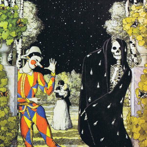 Somov, Harlequin and Death
