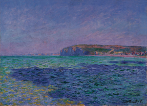 Monet, Shadows on the Sea